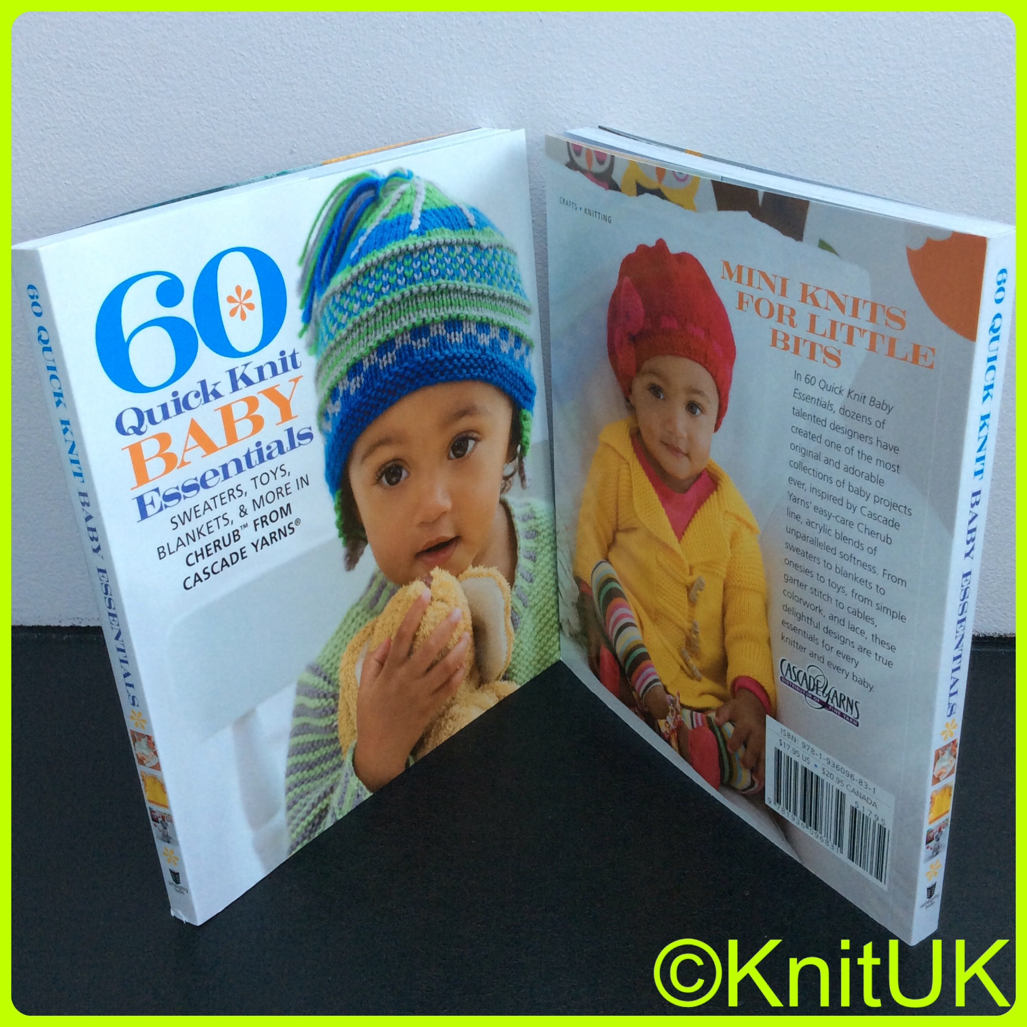 60 quick knit baby essentials book sixth & spring cascade yarns