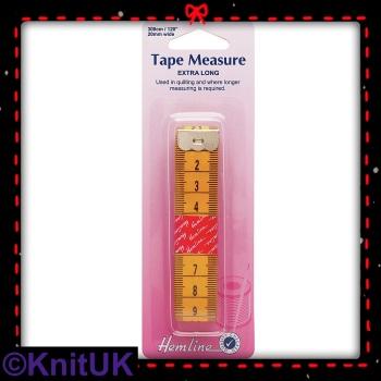 Tape Measure Extra Long - 300cm (Hemline)