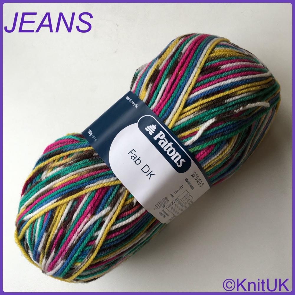 Patons fab dk jeans colour