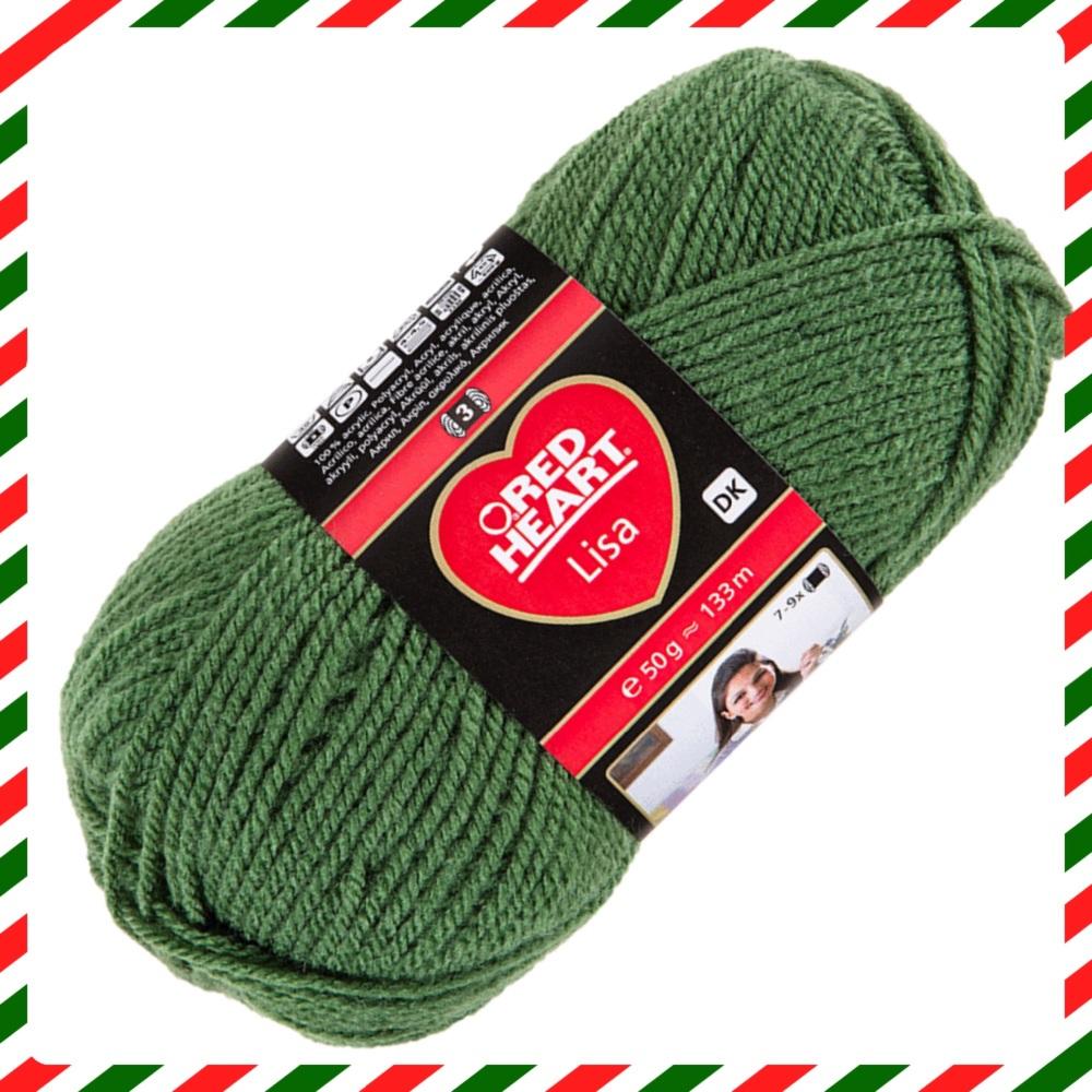 Red Heart Lisa (50g). DK yarn for knitting and crochet.