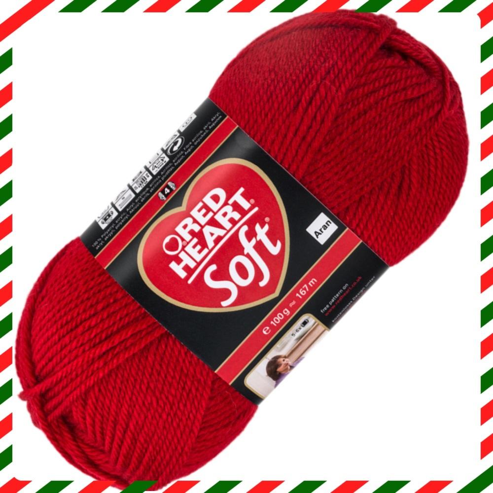 Red Heart Soft Yarn Shop At Knituk