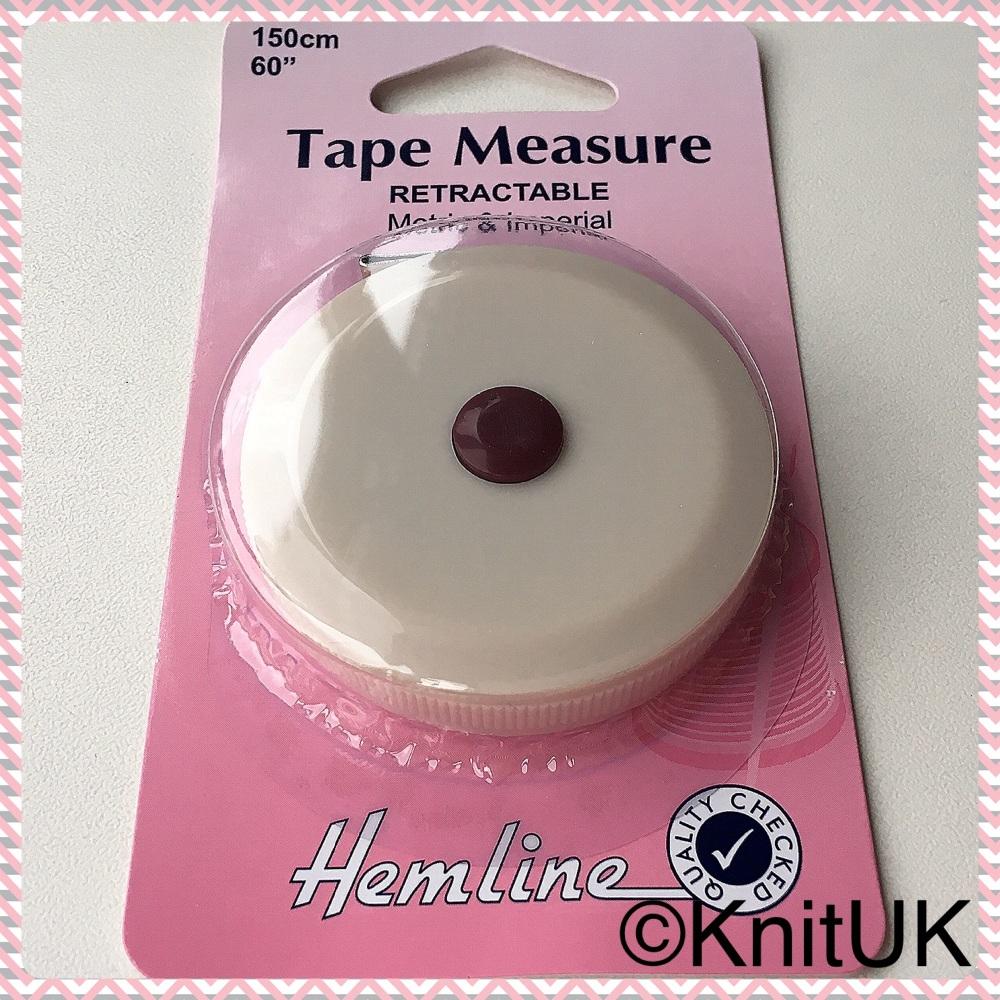 Tape Measure - Retractable 160cm (Hemline)