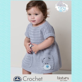 DMC Baby Slouchy Dress - Crochet Pattern Leaflet (by Claire Montgomerie)