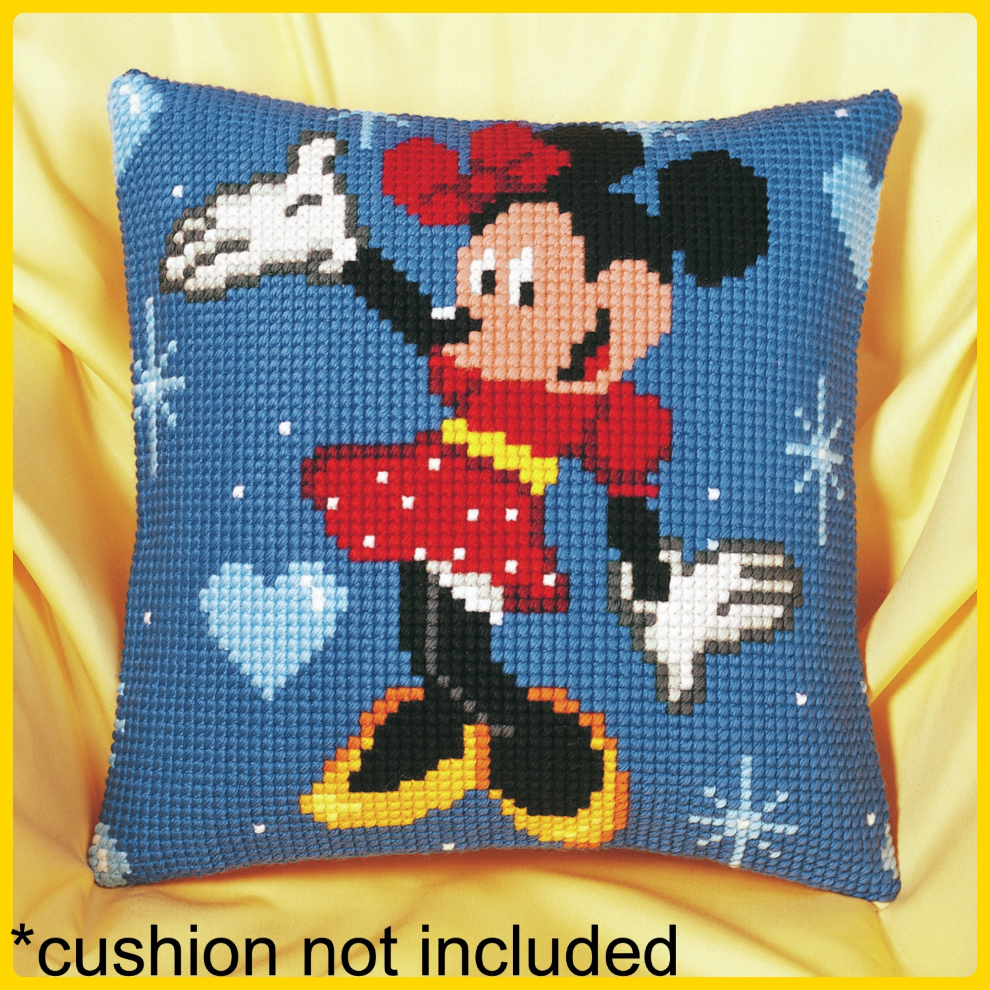 Vervaco cross stitch tapestry minnie cushion cover