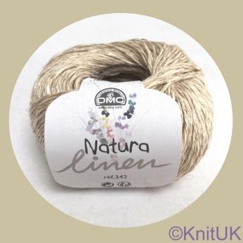 DMC Natura Linen 50g. (Light DK)