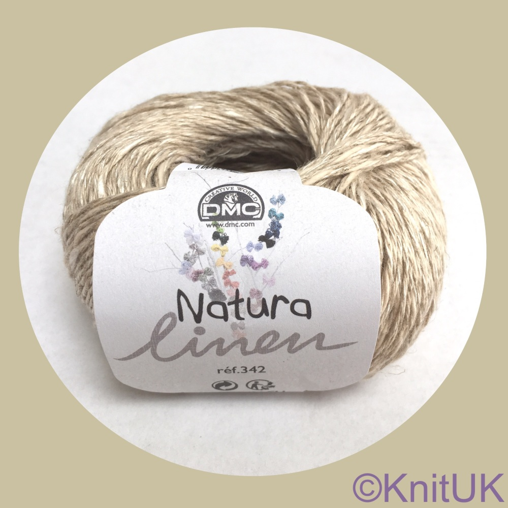 Dmc Natura Linen yarn ball shade 03