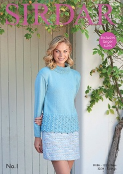 Sirdar Pattern: Sweater in Sirdar No. 1. Leaflet (Knitting)