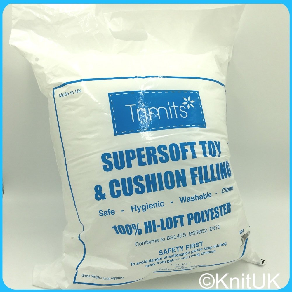 Supersoft Toy Filling (250g) - Made in UK (Trimits)