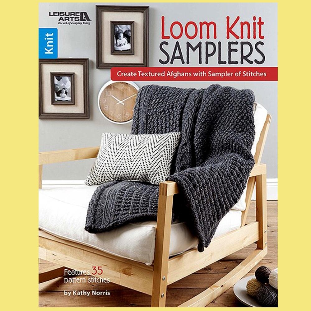 Loom Knit Samplers. 32 pages (Kathy Norris)