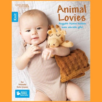Animal Lovies. Leisure Arts. 2016 (by Yolanda Soto-Lopez). Knitting (Easy)