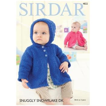 Sirdar pattern: Jackets in Sirdar Snuggly Snowflake DK. Leaflet 4822 ( Knitting)