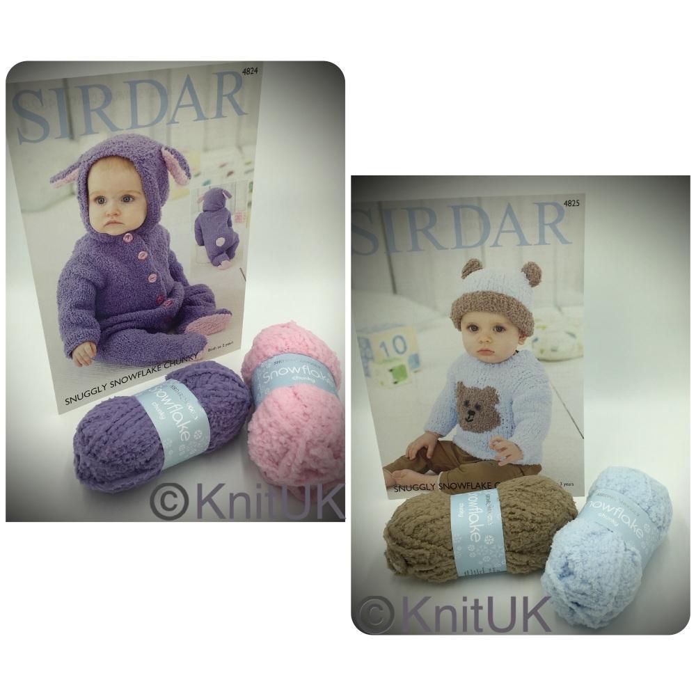 sirdar snuggly snowflake chunky knitting patterns and yarns