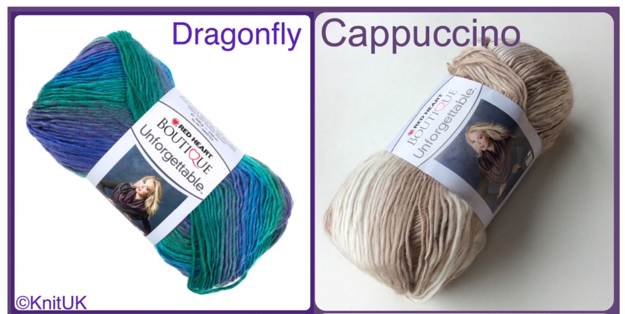 red heart boutique unforgetable yarn colour dragonfly cappuccino