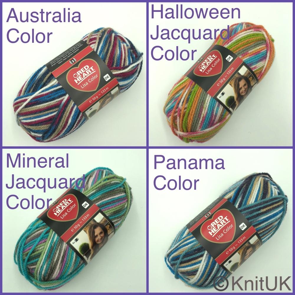Red heart lisa dk color yarn australia mineral halloween panama colour