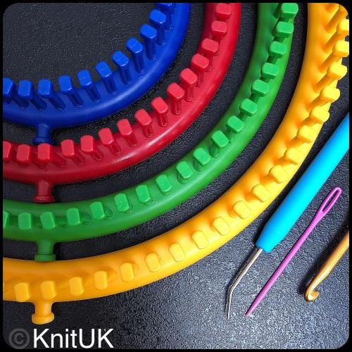 New Round Knitting Loom Set 38 In Knituk