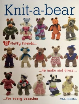Knit-a-bear. Val Piece. GMC Publications. 2014. 160p.