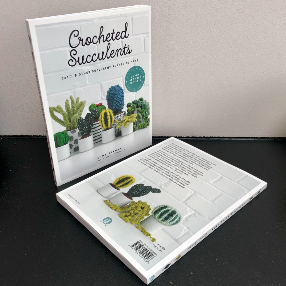 GMC Crocheted Succulents book Emma Varnam