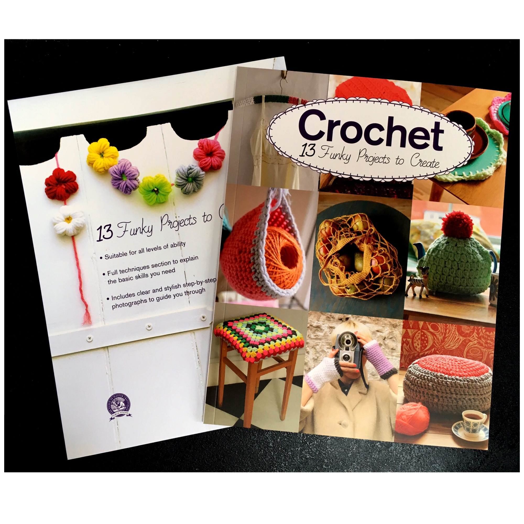 Gmc Crochet 13 funky projects to create Claire Culley Amy Phipps boklet