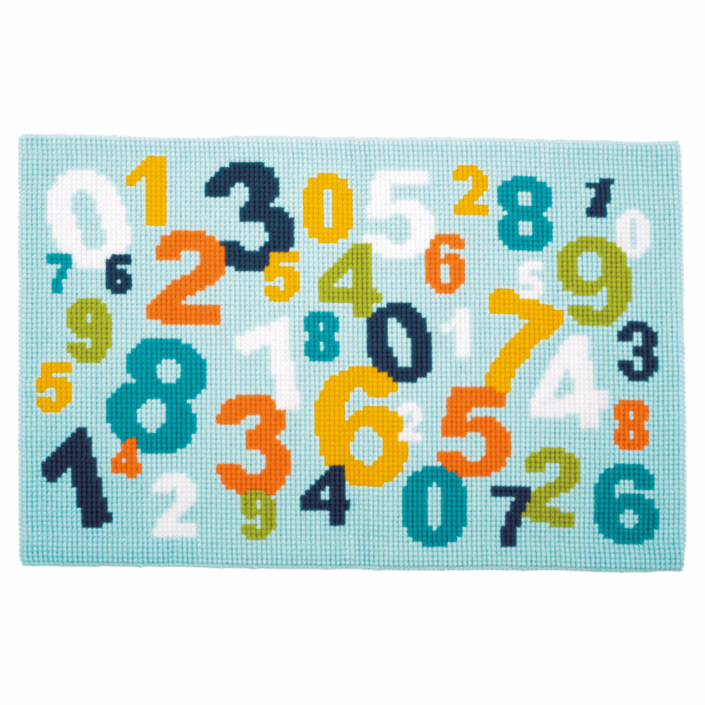 Cross Stitch Kit - Rug Numbers. Tapestry (Vervaco).