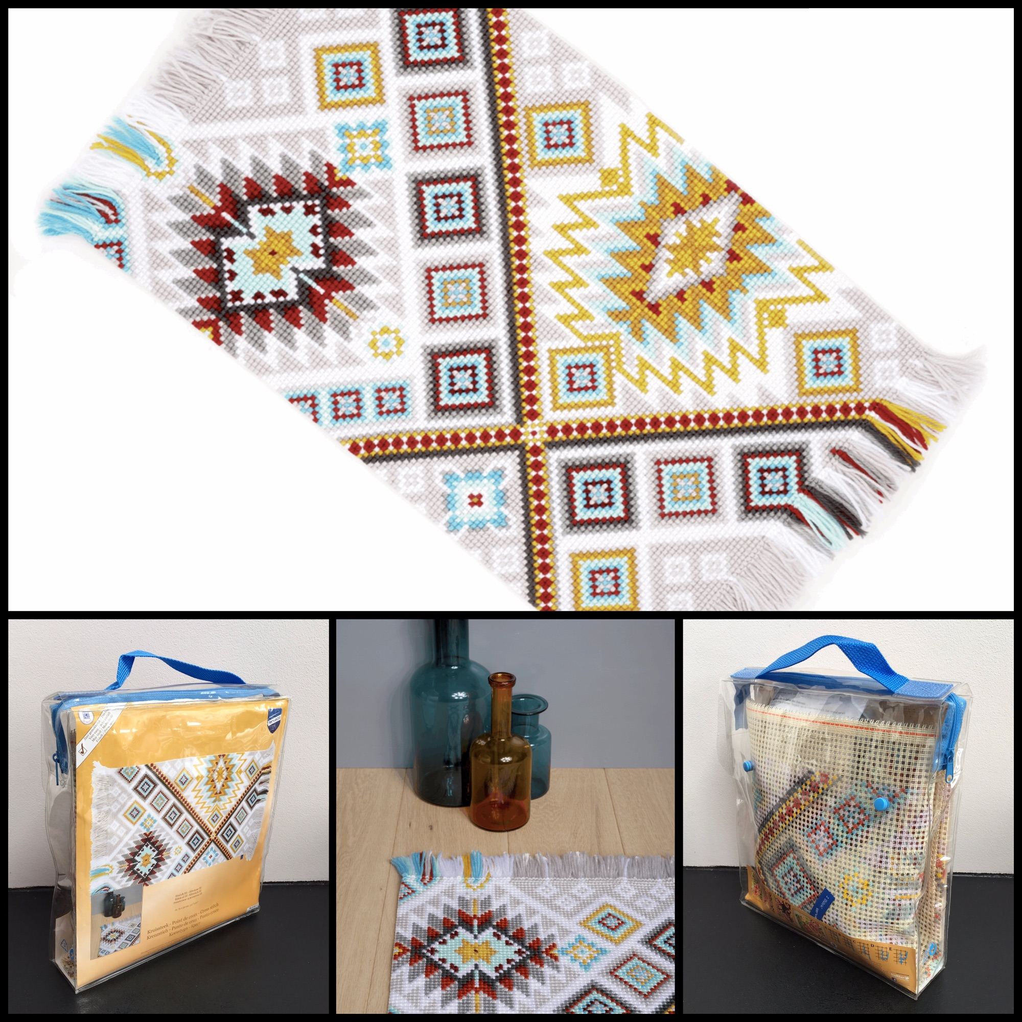 Vervaco Rug Ethnical cross stitch tapestry kit