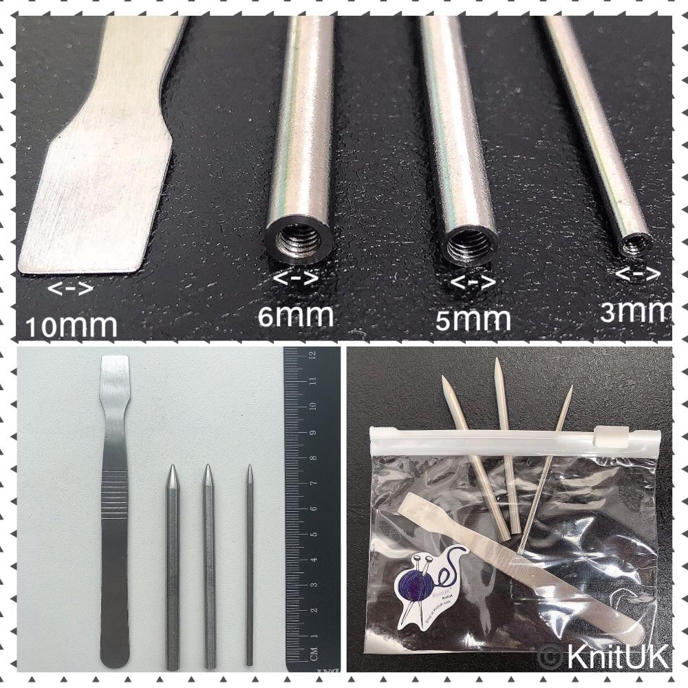 KnitUK Paracord Kit fid Smoothing Tool