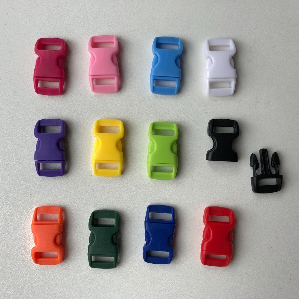 Buckles - Multicolour. Pack of 12. (KnitUK)