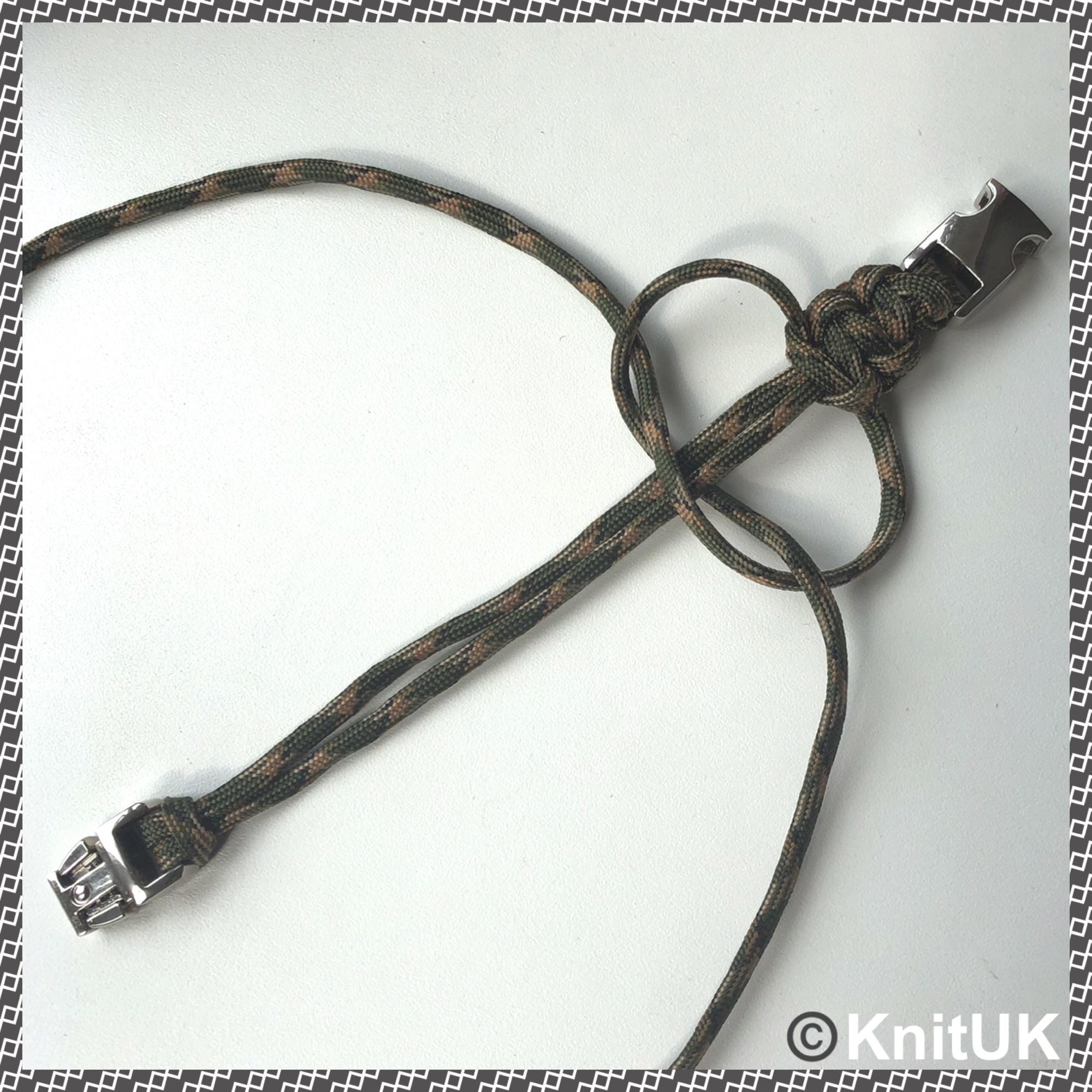 Knituk paracord 550 buckle bracelet