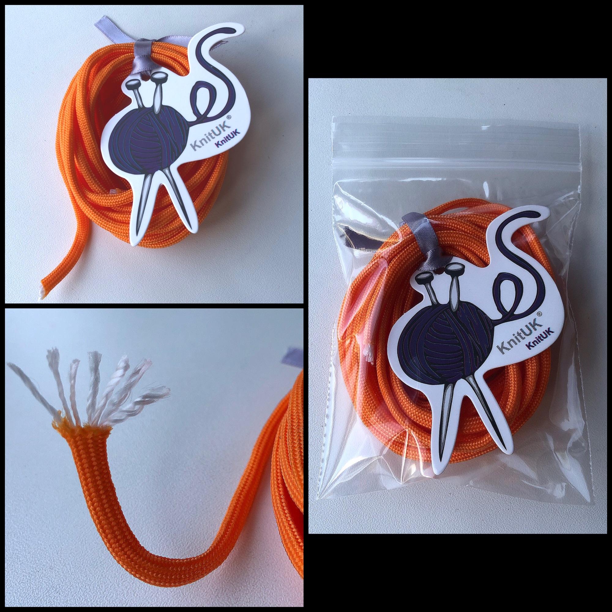Knituk paracord 550 packaging