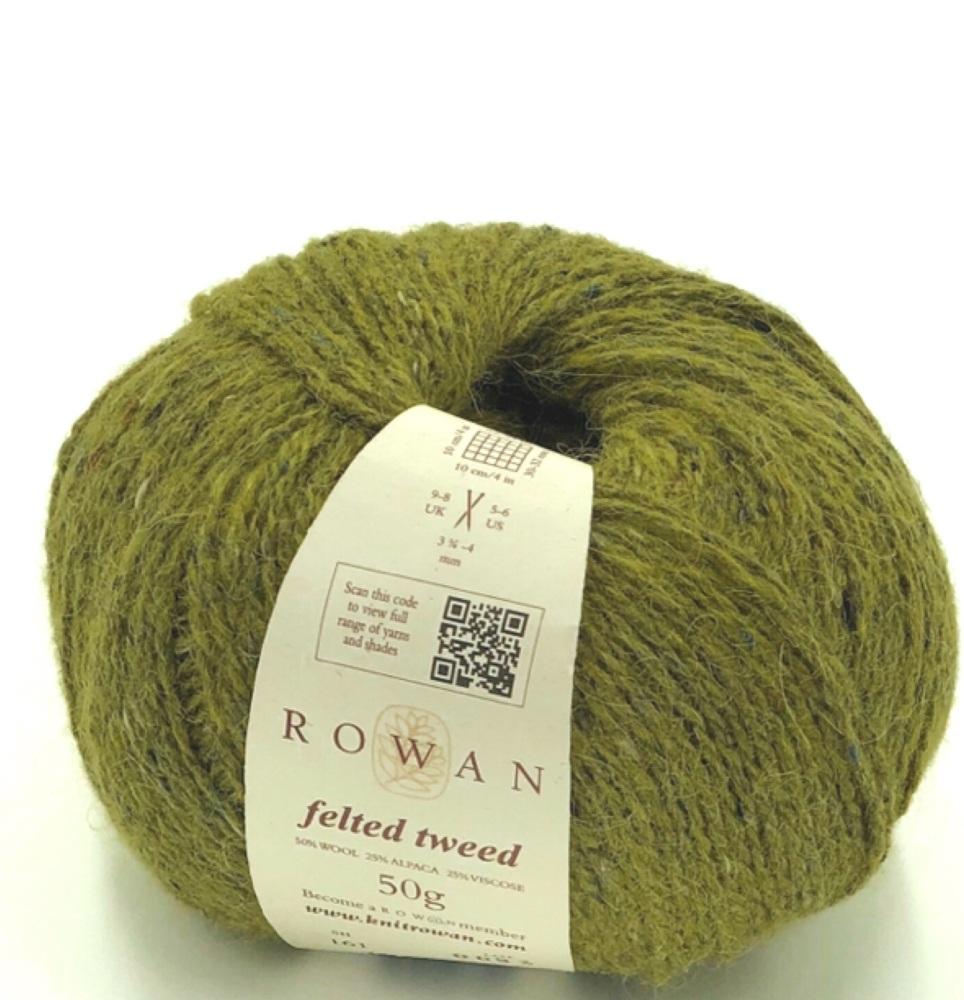 Rowan Felted Tweed DK (50g). Traditional DK knitting yarn