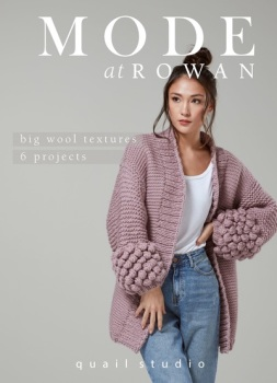 Big Wool Textures. Mode at Rowan. Quail Studio. 48 pages.