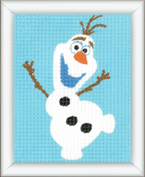 Tapestry Kit for framing: Frozen Olaf (Vervaco)