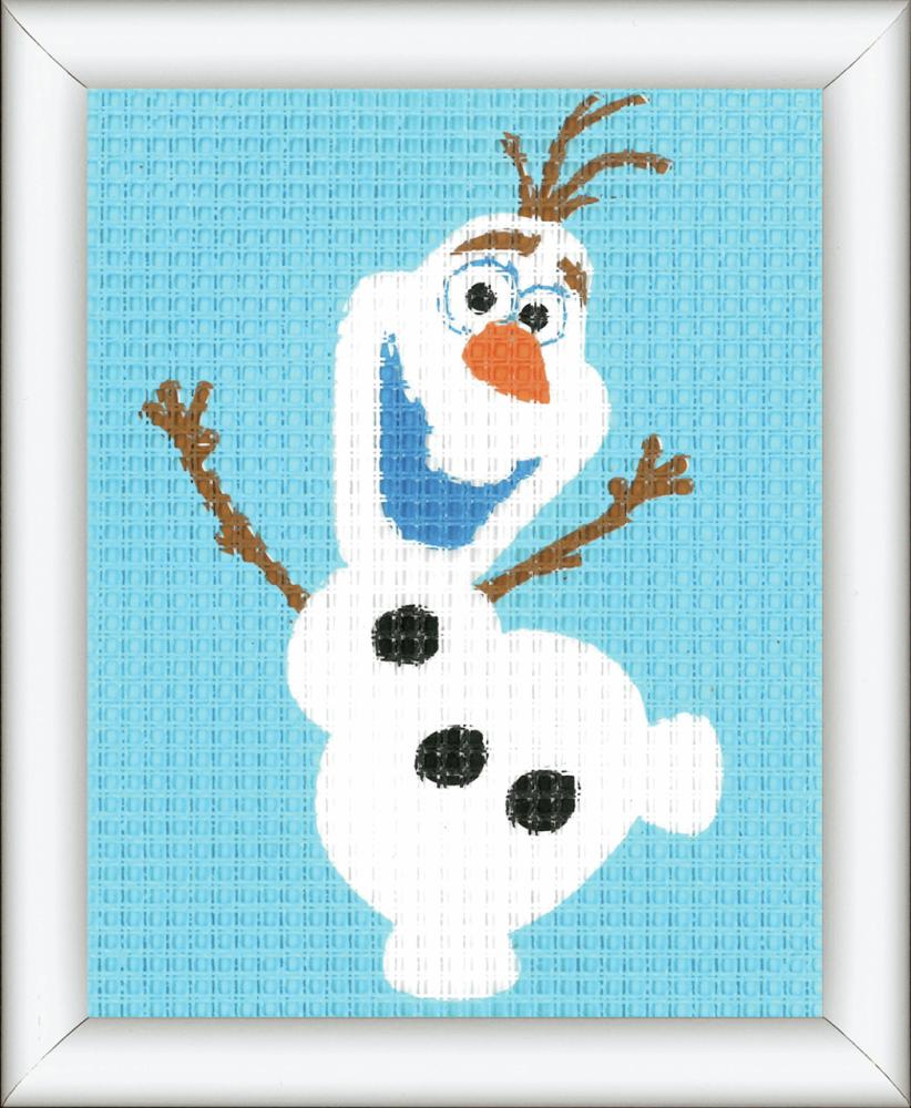 Tapestry Kit for framing: Frozen Olaf (Vervaco)