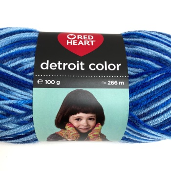Red Heart Detroit Color DK (100g). Choose colour