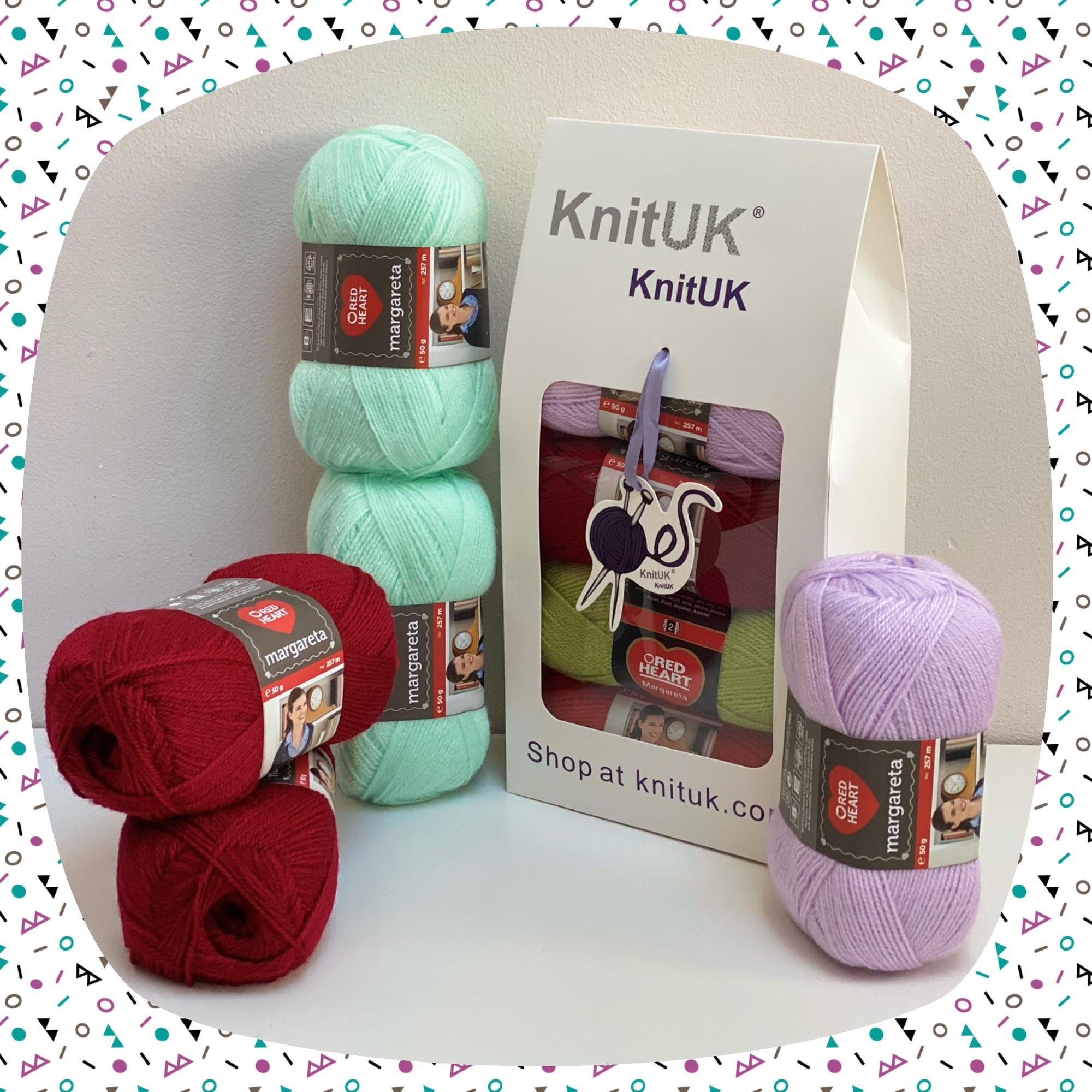 red heart margareta knitting crochet yarn knituk box