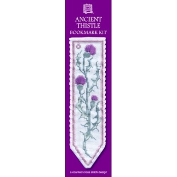 BOOKMARK Ancient Thistle. Cross-Stitch Kit by Textile Heritage