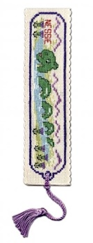 BOOKMARK Loch Ness Monster. Cross Stitch Kit by Textile Heritage
