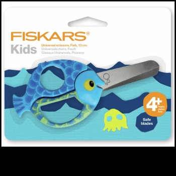 Scissors. Fiskars Animals for Kids. Fish.