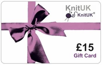 £15 Gift Card. KnitUK