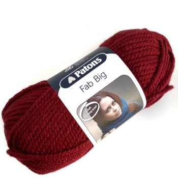 Patons Fab Big. Super chunky yarn (200g). Choose colour