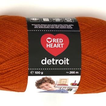 Red Heart Detroit DK (100g). Knitting and crochet yarn. Choose colour.