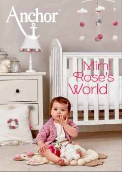 Anchor Mimi Rose's World. Crochet Brochure. 60 pages.
