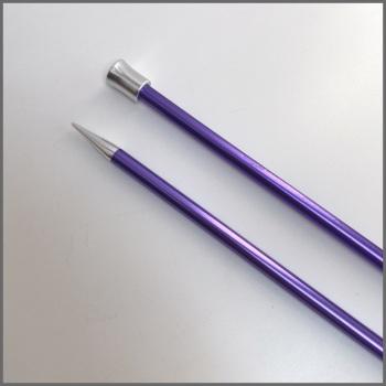 KnitPro Zing Single Pointed Knitting Needles. 35cm (Aluminium). Price starts at