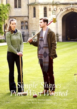 Simple Shapes - Pure Wool Worsted. Rowan. (by Martin Storey). 50 pages.