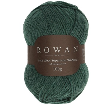 Rowan Pure Wool Superwash Worsted (100g). Wool yarn. Choose colour.