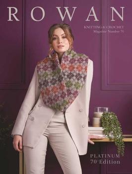 Knitting & Crochet Magazine Number 70. Rowan.