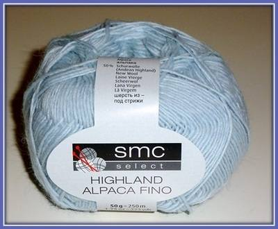 SMC Select Highland Alpaca Fino - light DK (50g) - Premium knitting yarn