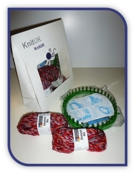 Knitting Loom Kit. Woolly Hat