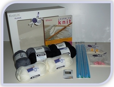 Cushion Cover - Knitting Kit (Now: FREE Cushion Pad)