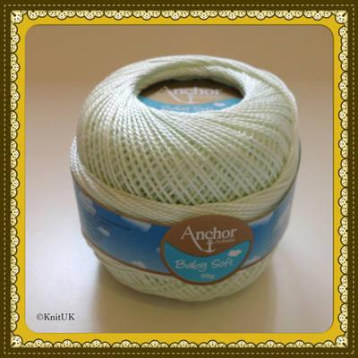 Anchor Artiste Soft Baby n. 05 - 3ply (50g) - Knitting & Crochet Yarn