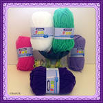 Patons Fab DK (25g) - budget yarn - Crochet & Knitting